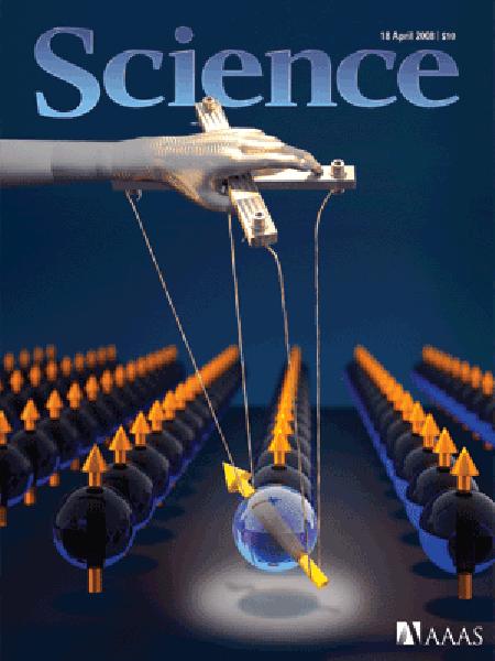 J. Berezovsky*, M. H. Mikkelsen*, et al., Science 320, 349, (2008) / R. Hanson, et al., Science 320, 352, (2008)