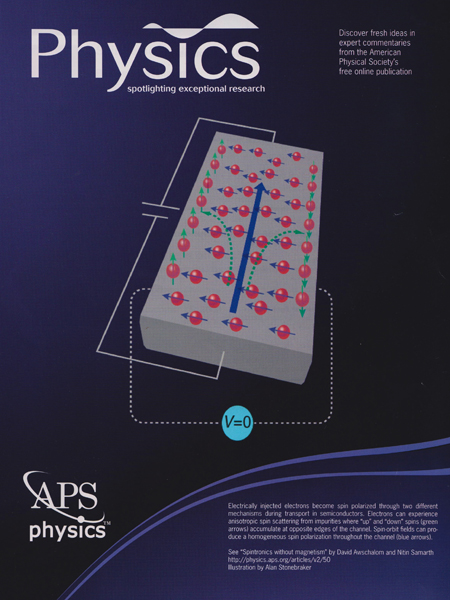 Spintronics without magnetism